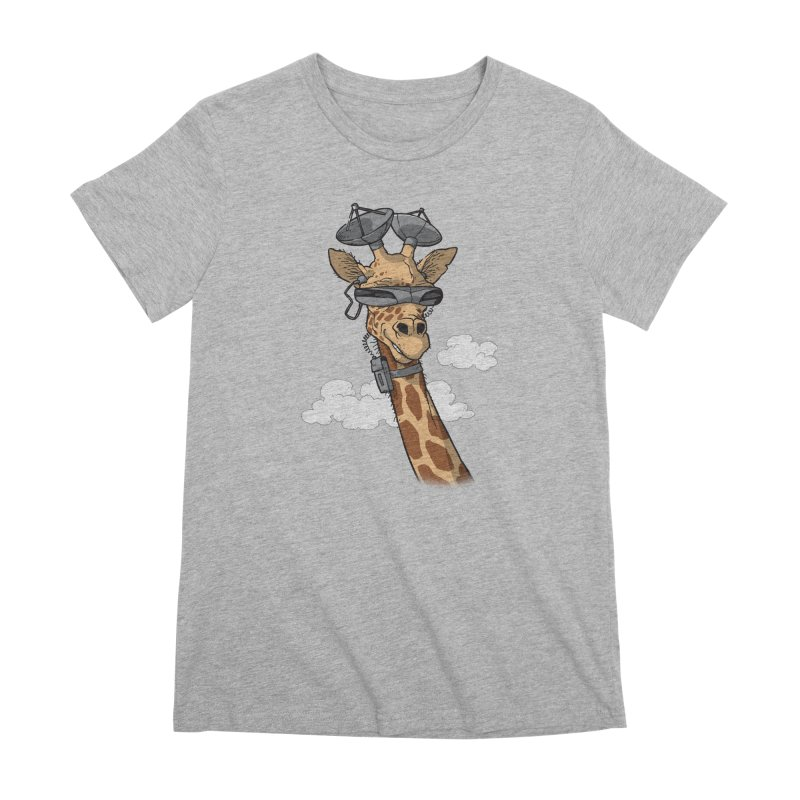 High Tech Animal Women's Premium T-Shirt by Freehand