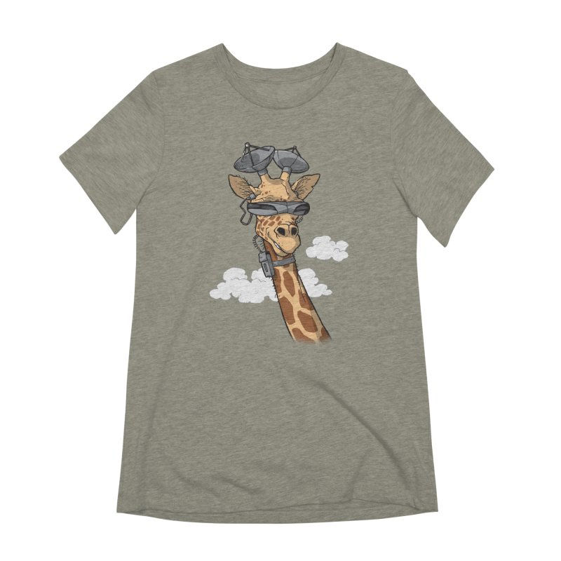 High Tech Animal Women's Extra Soft T-Shirt by Freehand