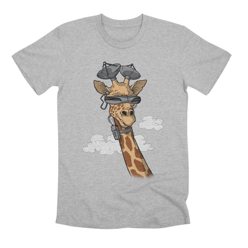 High Tech Animal Men's Premium T-Shirt by Freehand