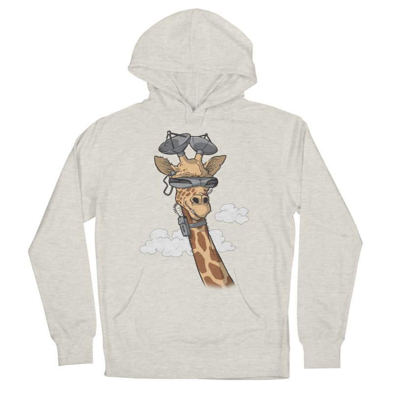 High Tech Animal Women's French Terry Pullover Hoody by Freehand