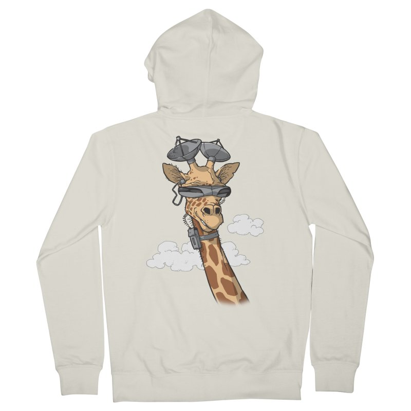High Tech Animal Men's Zip-Up Hoody by Freehand