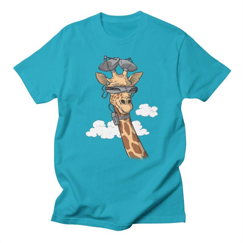 High Tech Animal Men's Regular T-Shirt by Freehand