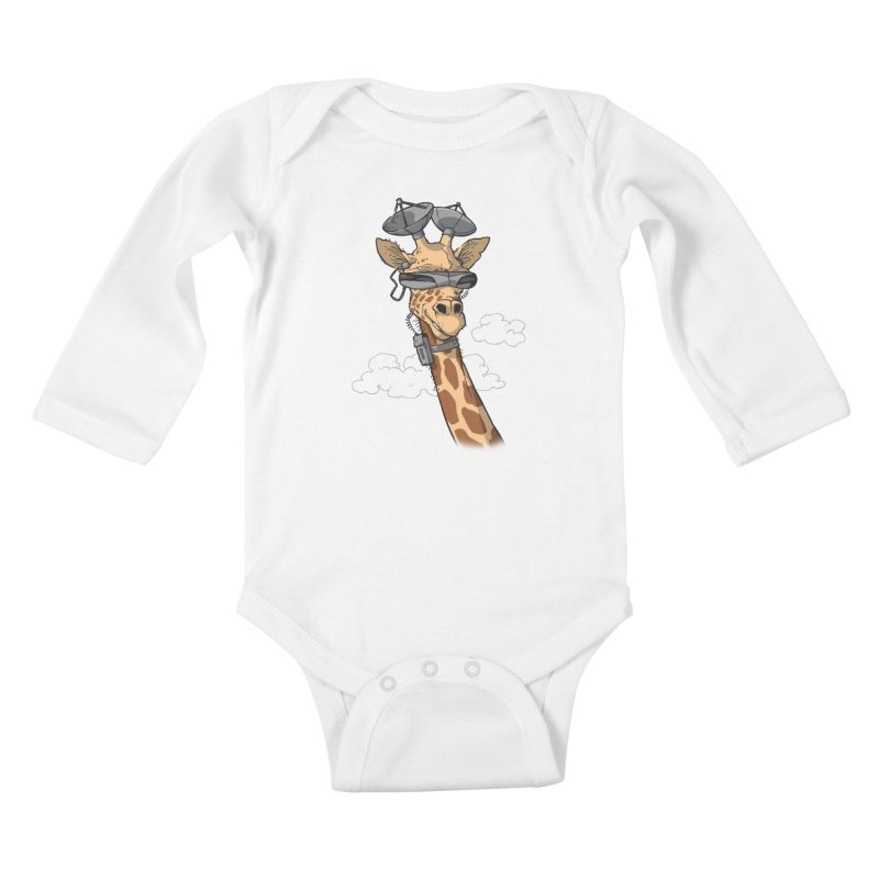 High Tech Animal Kids Baby Longsleeve Bodysuit by Freehand