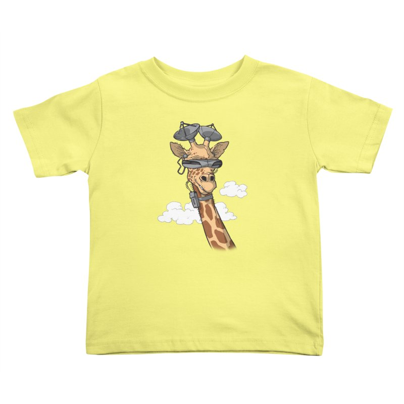 High Tech Animal Kids Toddler T-Shirt by Freehand