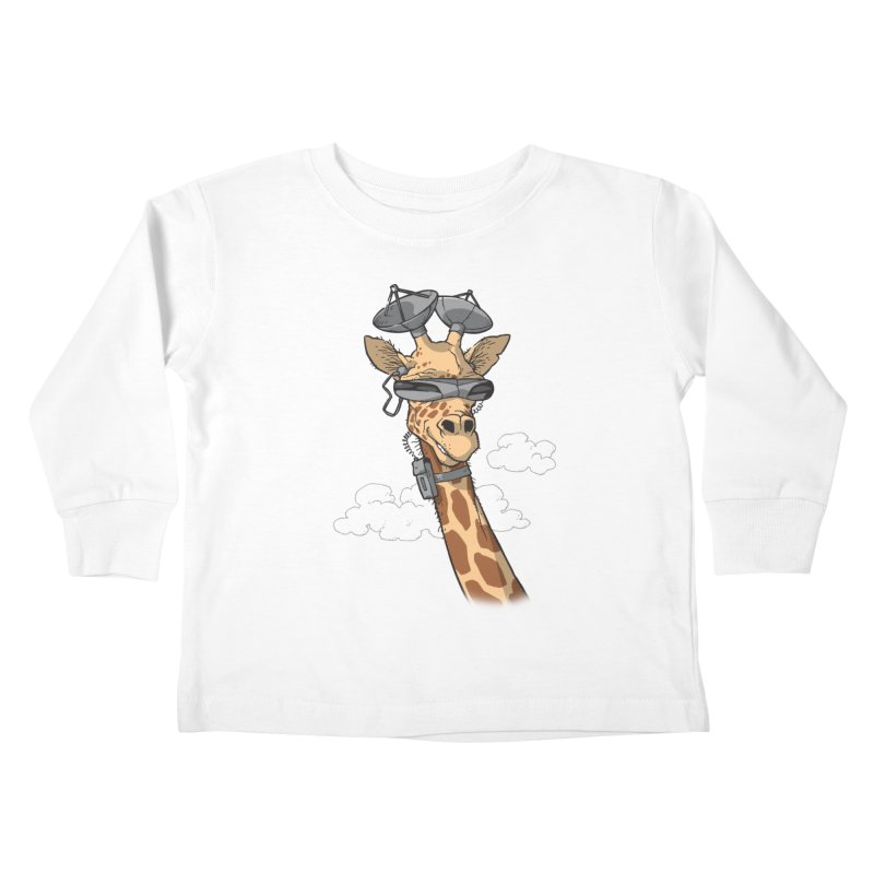 High Tech Animal Kids Toddler Longsleeve T-Shirt by Freehand