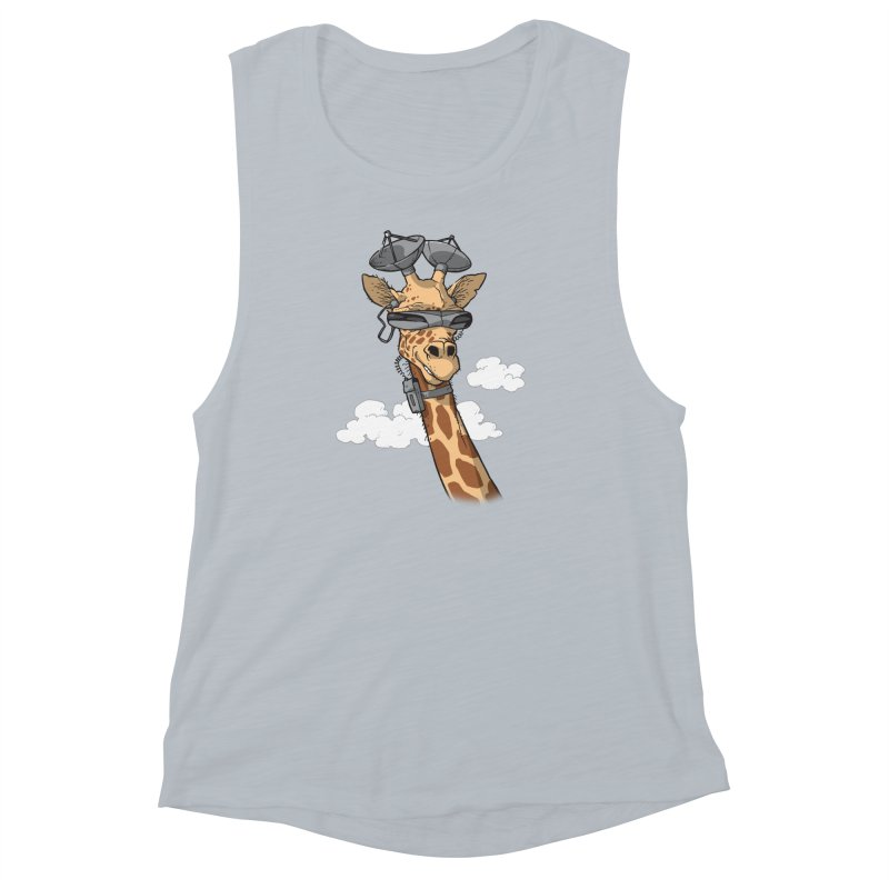 High Tech Animal Women's Muscle Tank by Freehand