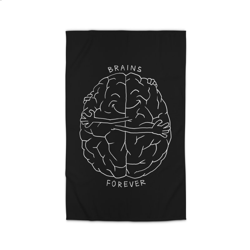 Brains Forever Home Rug by Freehand