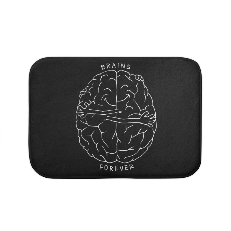 Brains Forever Home Bath Mat by Freehand