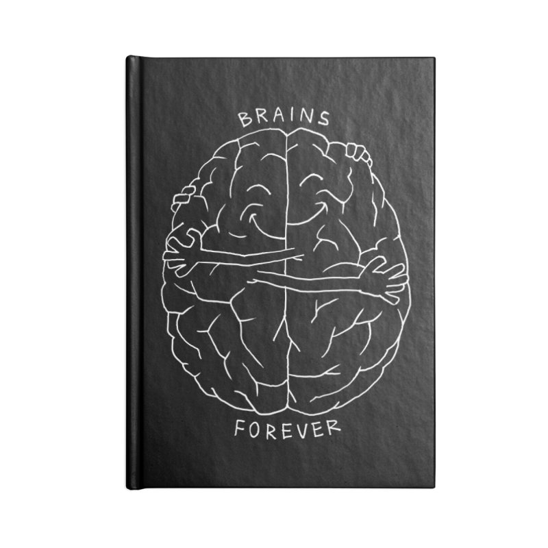 Brains Forever Accessories Notebook by Freehand