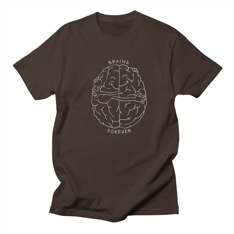 Brains Forever Men's T-Shirt by Freehand