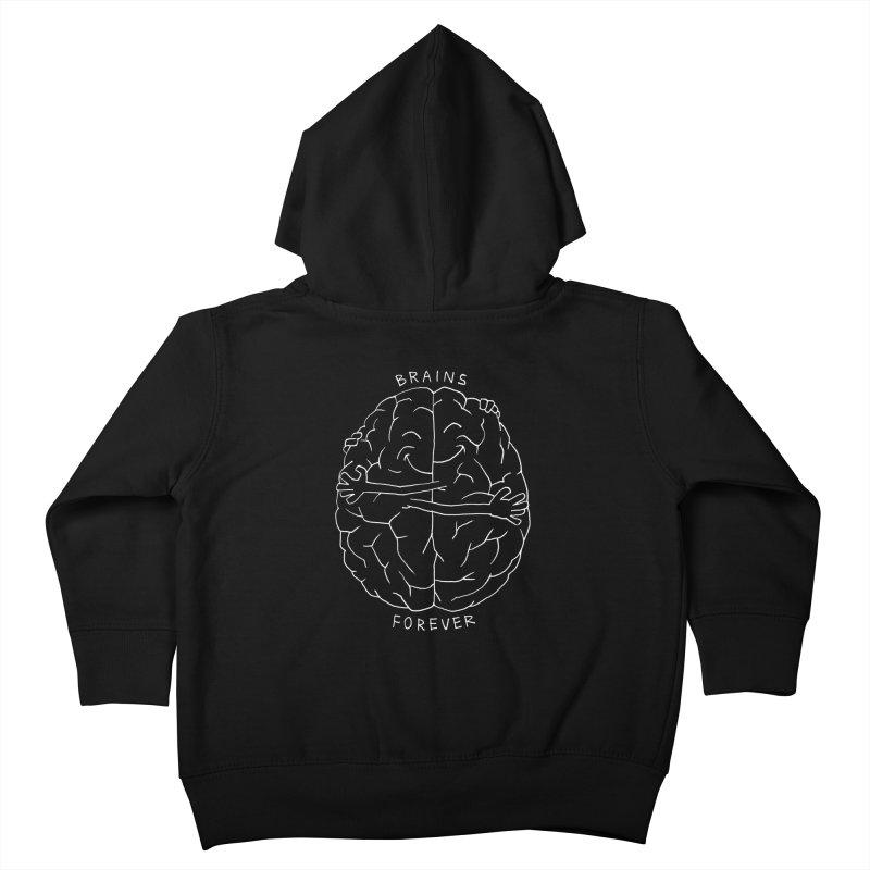 Brains Forever Kids Toddler Zip-Up Hoody by Freehand