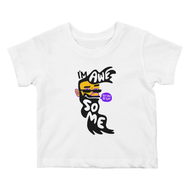 Beard Wisdom Kids Baby T-Shirt by Freehand