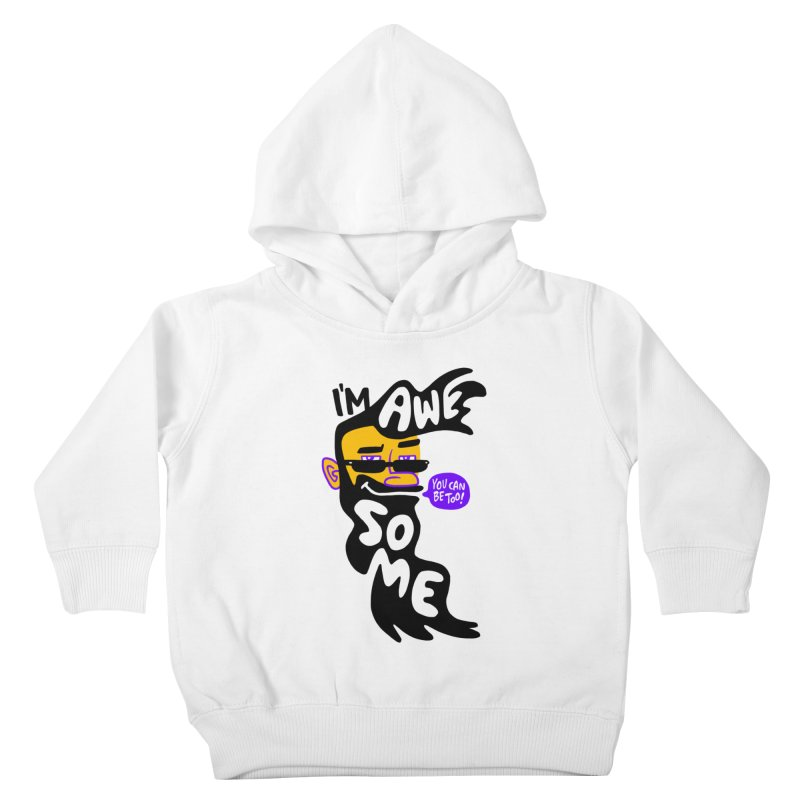 Beard Wisdom Kids Toddler Pullover Hoody by Freehand