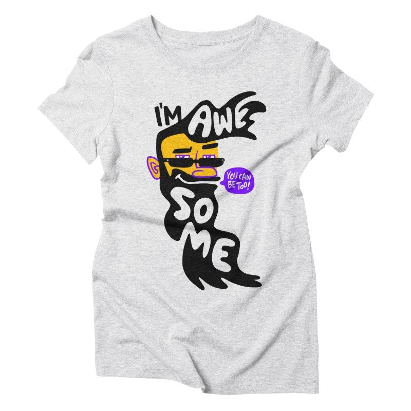 Beard Wisdom Women's Triblend T-Shirt by Freehand