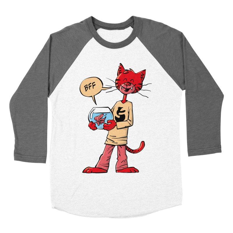BFF Men's Baseball Triblend Longsleeve T-Shirt by Freehand