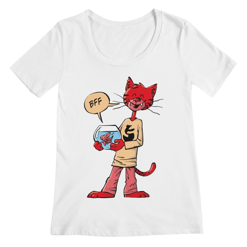 BFF Women's Regular Scoop Neck by Freehand