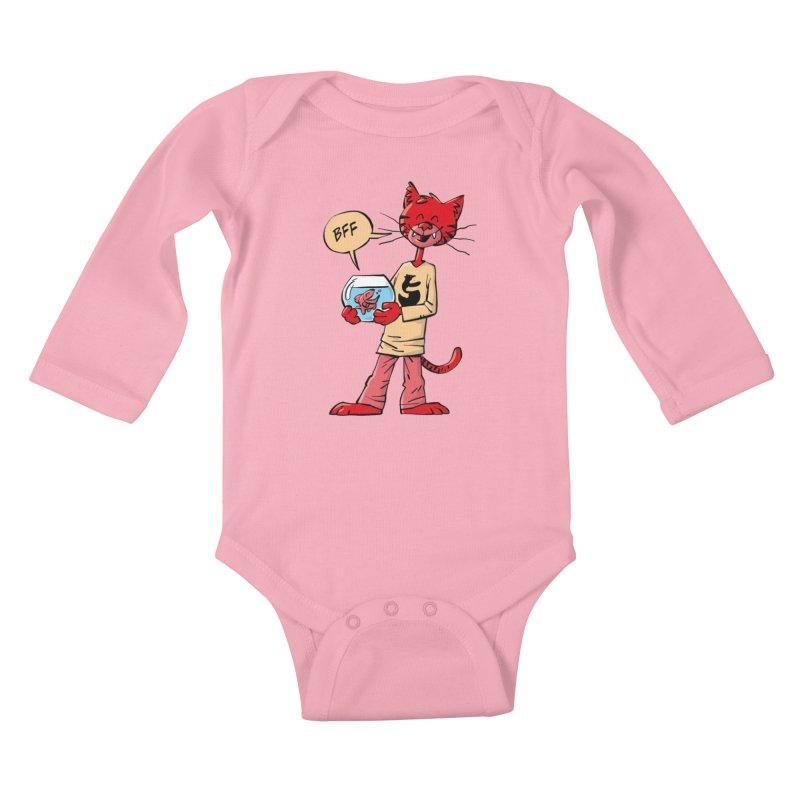 BFF Kids Baby Longsleeve Bodysuit by Freehand