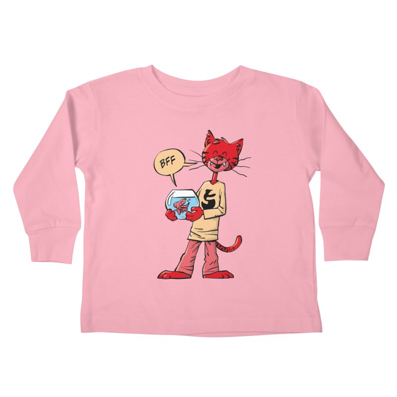 BFF Kids Toddler Longsleeve T-Shirt by Freehand