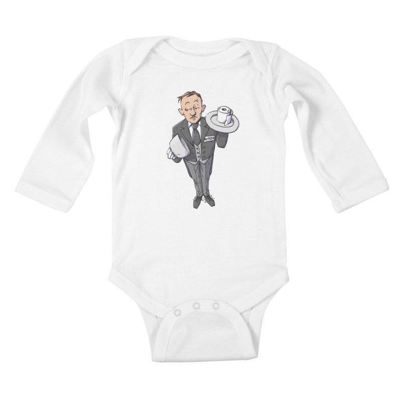 Buttler Kids Baby Longsleeve Bodysuit by Freehand