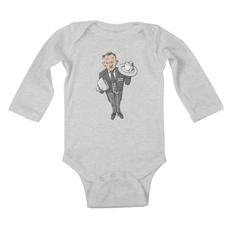 Buttler Kids Baby Longsleeve Bodysuit by Freehand