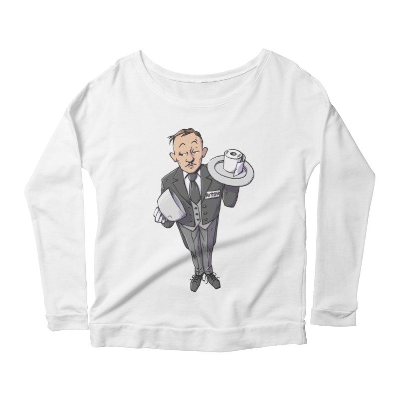 Buttler Women's Scoop Neck Longsleeve T-Shirt by Freehand