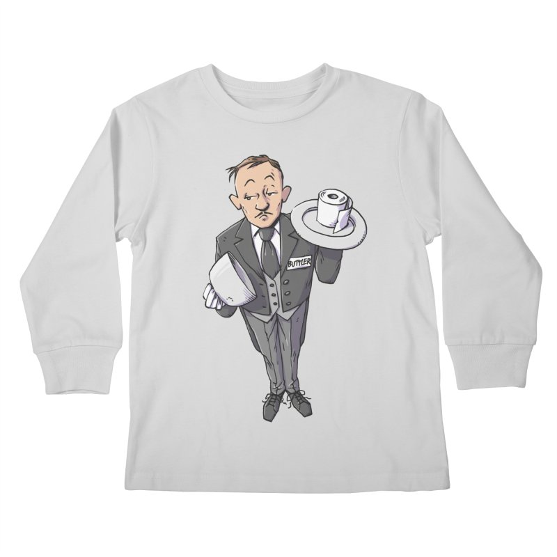 Buttler Kids Longsleeve T-Shirt by Freehand