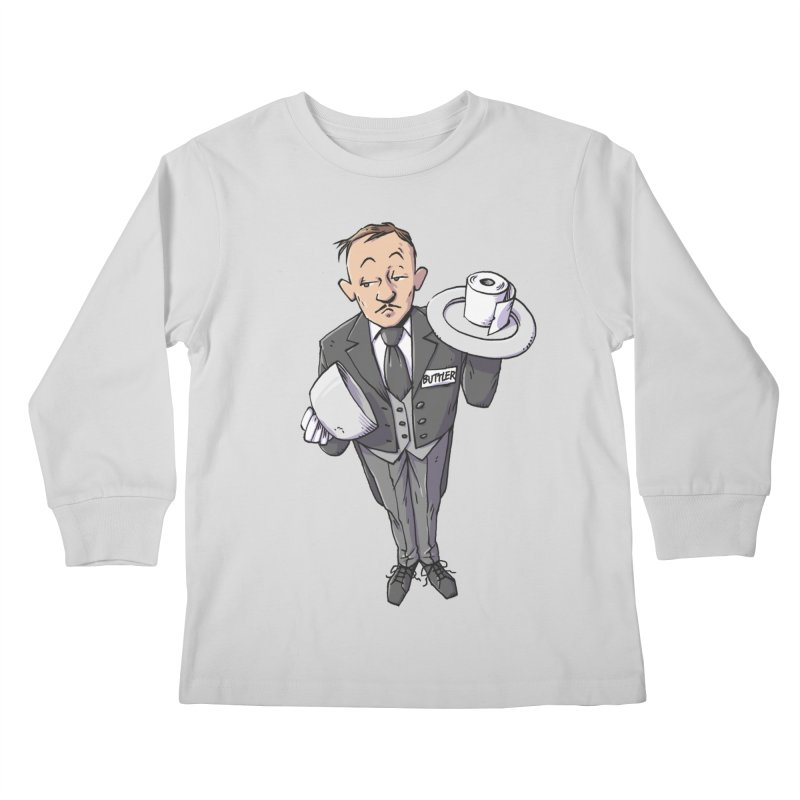 Buttler Kids Longsleeve T-Shirt by Freehand