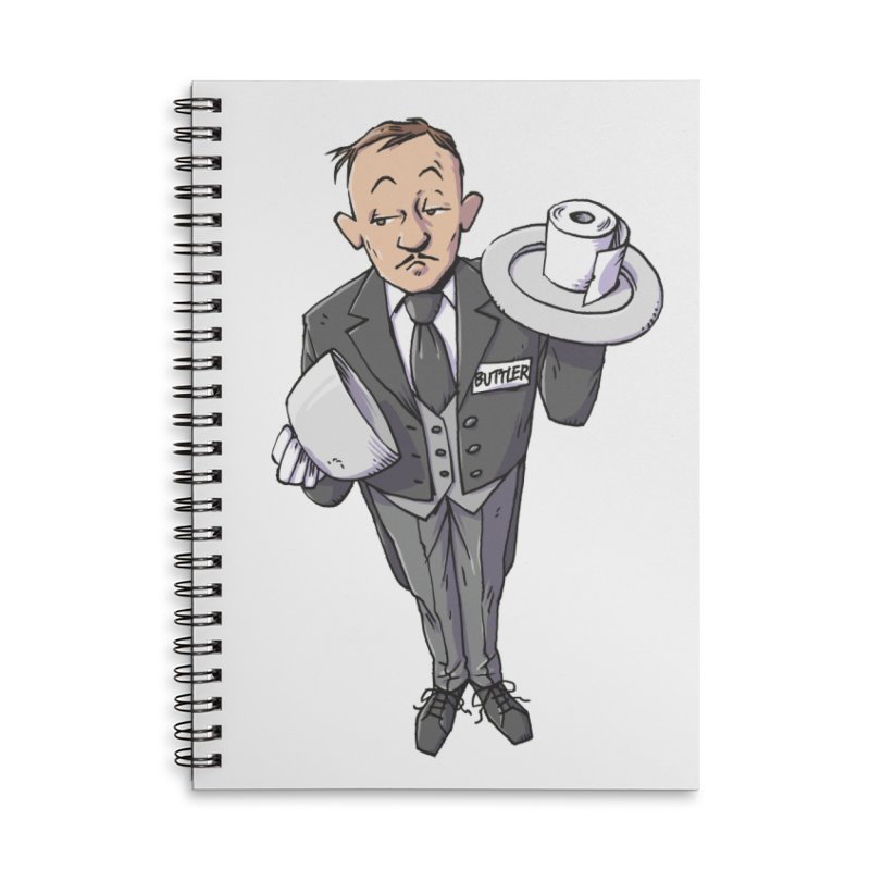 Buttler Accessories Lined Spiral Notebook by Freehand