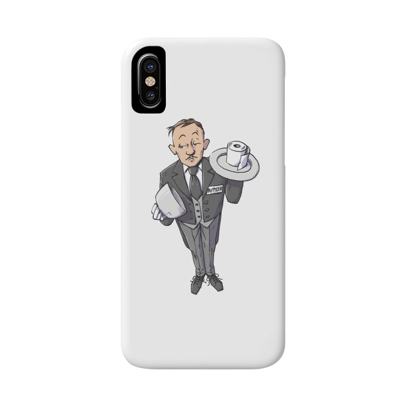 Buttler Accessories Phone Case by Freehand