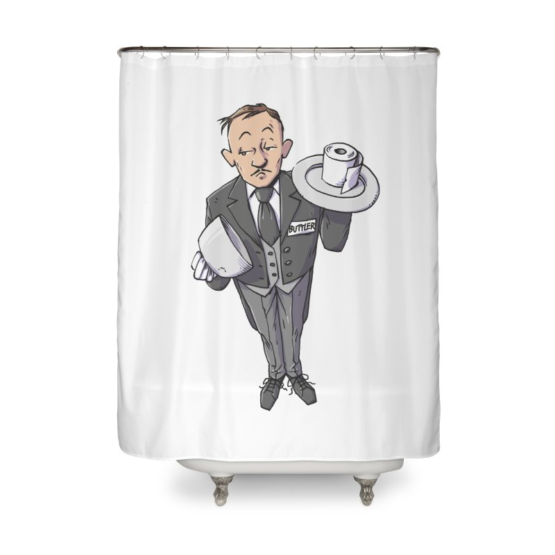 Buttler Home Shower Curtain by Freehand