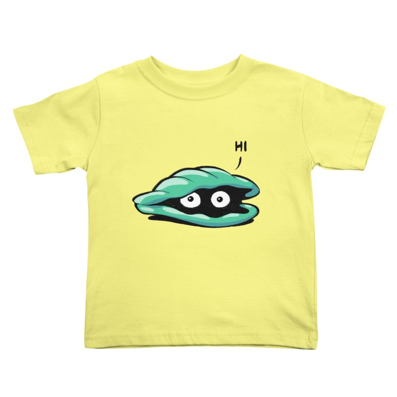 Friendly Introvert Kids Toddler T-Shirt by Freehand