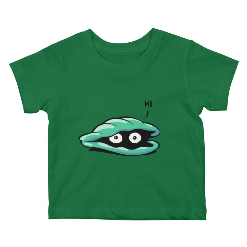 Friendly Introvert Kids Baby T-Shirt by Freehand