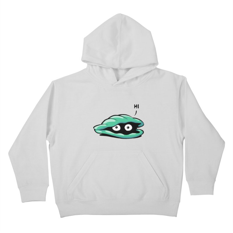 Friendly Introvert Kids Pullover Hoody by Freehand