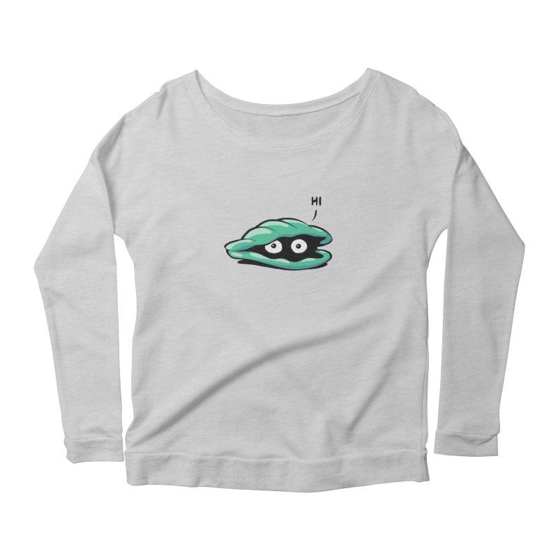 Friendly Introvert Women's Scoop Neck Longsleeve T-Shirt by Freehand