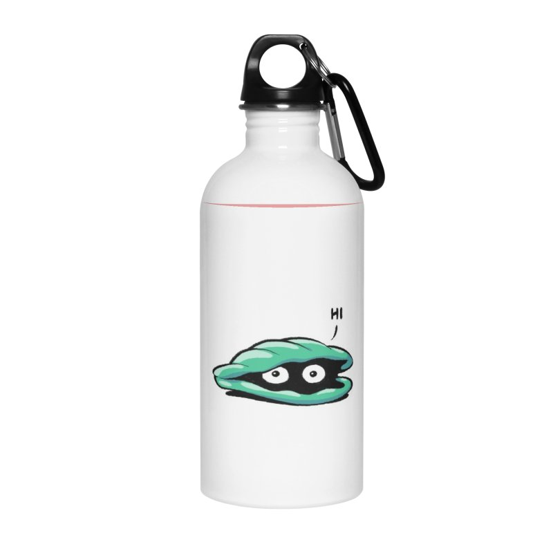 Friendly Introvert Accessories Water Bottle by Freehand