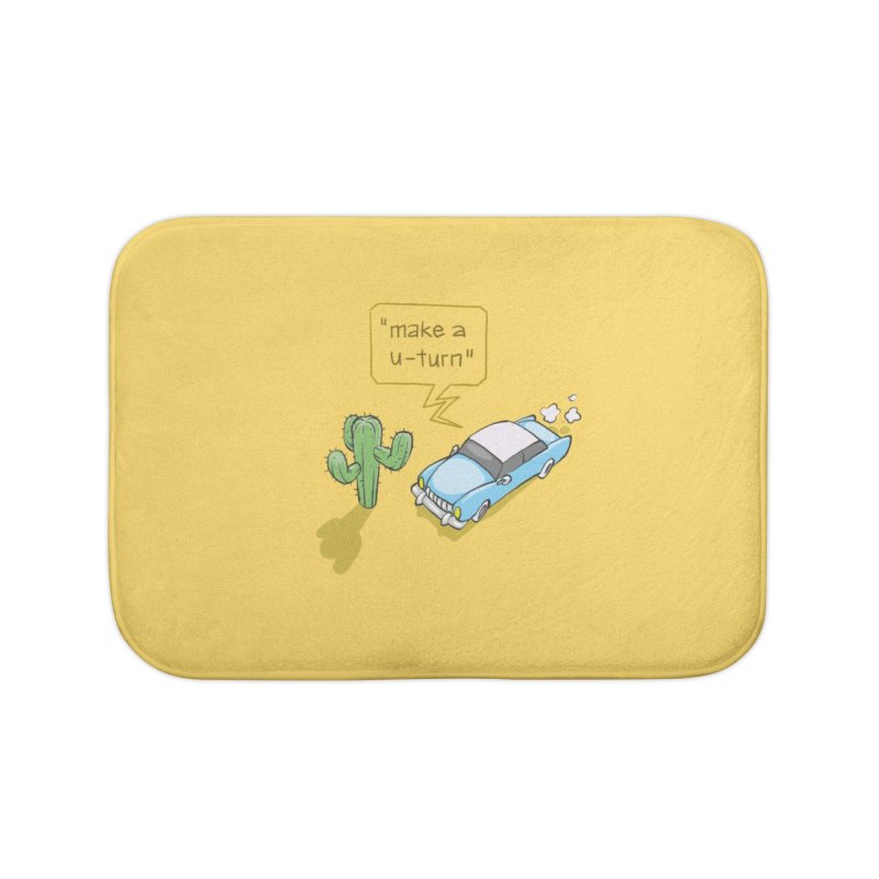 Point Of Return Home Bath Mat by Freehand