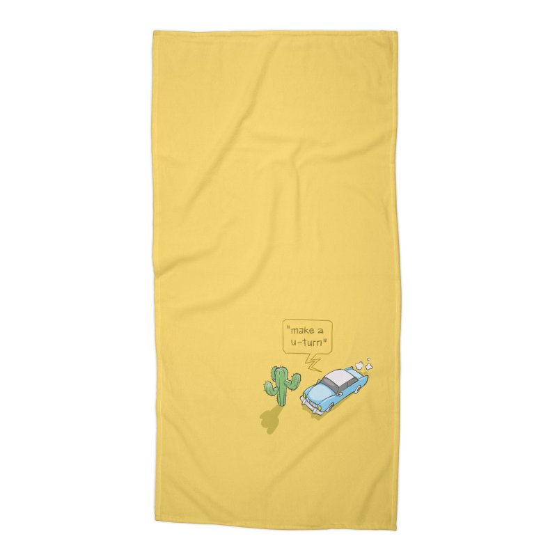 Point Of Return Accessories Beach Towel by Freehand