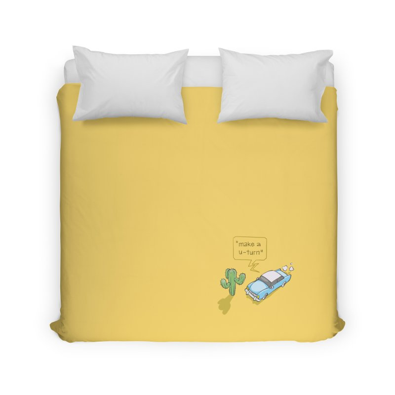 Point Of Return Home Duvet by Freehand