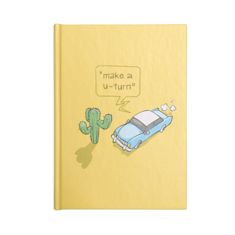 Point Of Return Accessories Lined Journal Notebook by Freehand