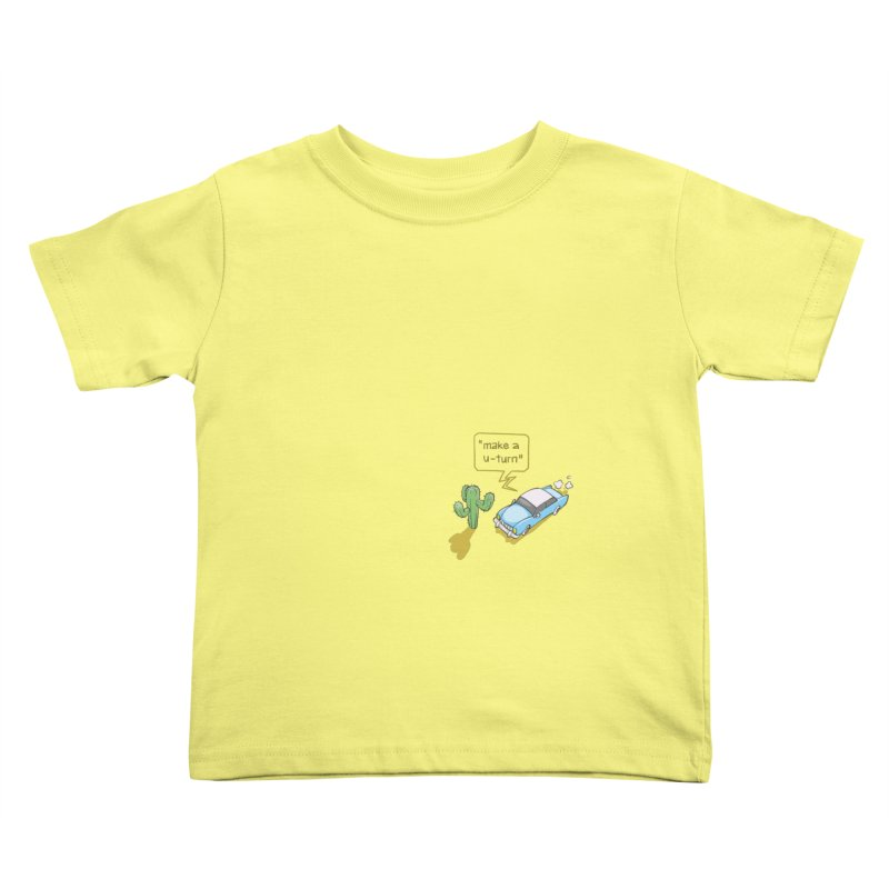 Point Of Return Kids Toddler T-Shirt by Freehand