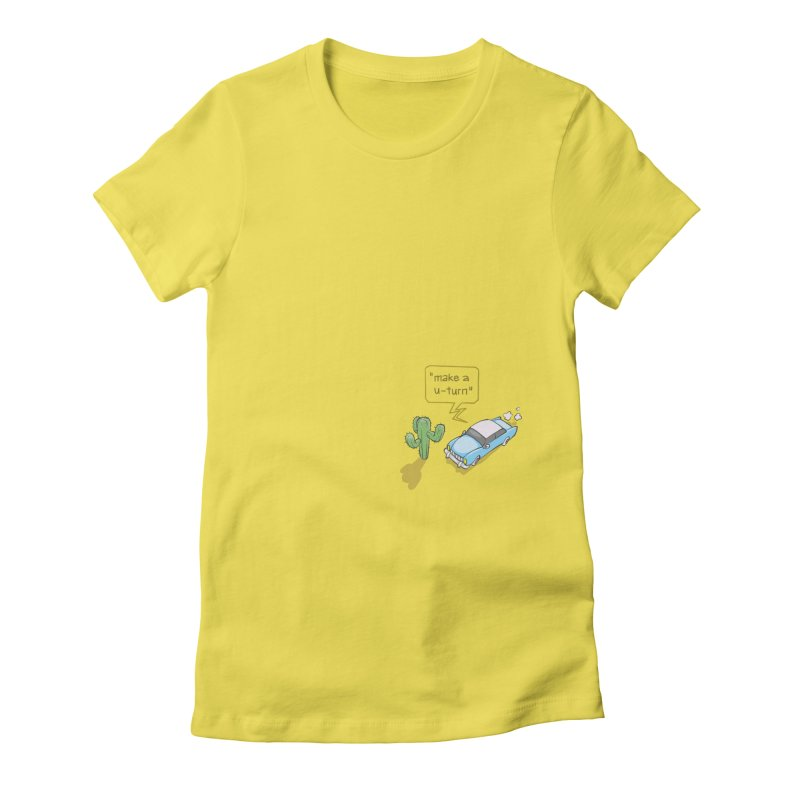 Point Of Return Women's T-Shirt by Freehand