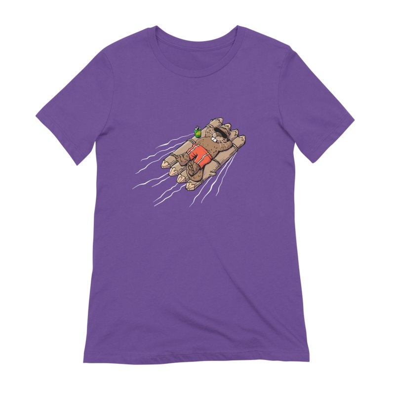Beavacation Women's Extra Soft T-Shirt by Freehand