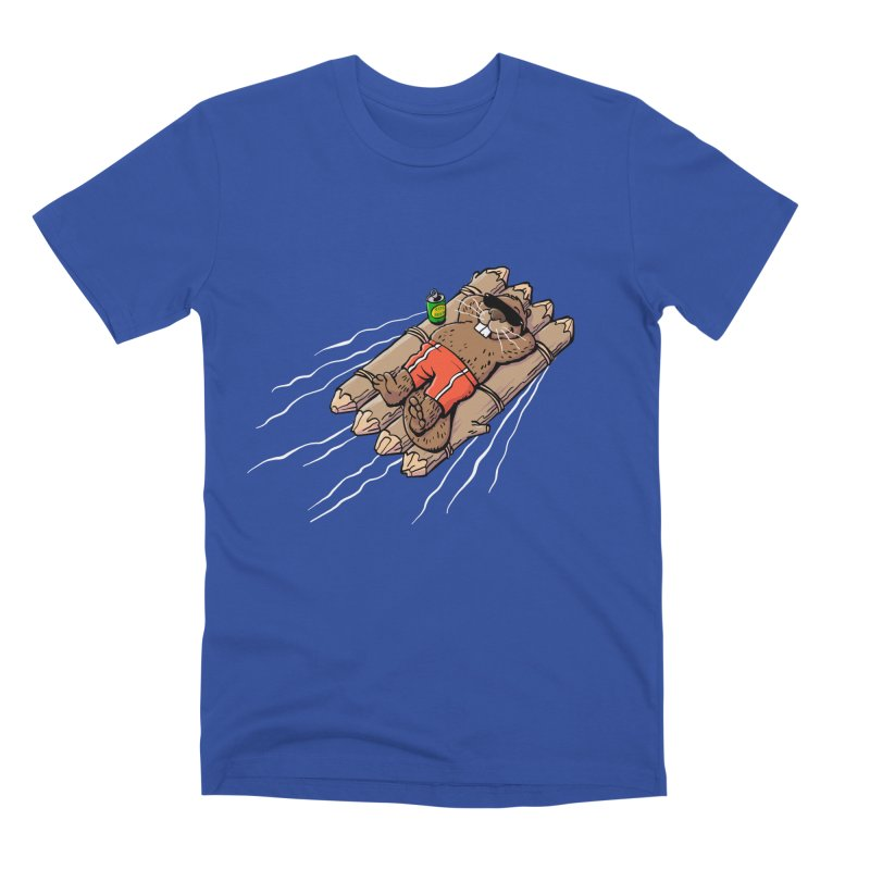 Beavacation Men's Premium T-Shirt by Freehand