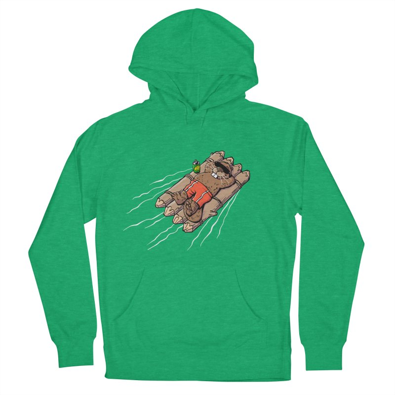 Beavacation Men's French Terry Pullover Hoody by Freehand