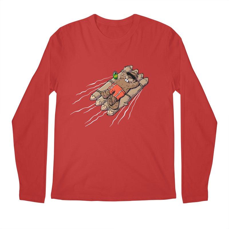 Beavacation Men's Regular Longsleeve T-Shirt by Freehand