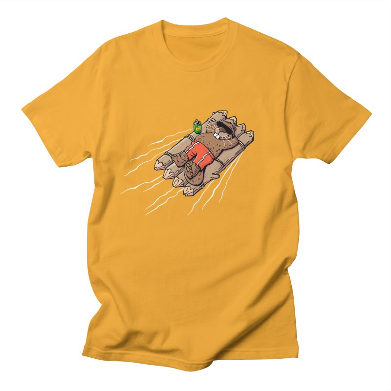 Beavacation Men's T-Shirt by Freehand