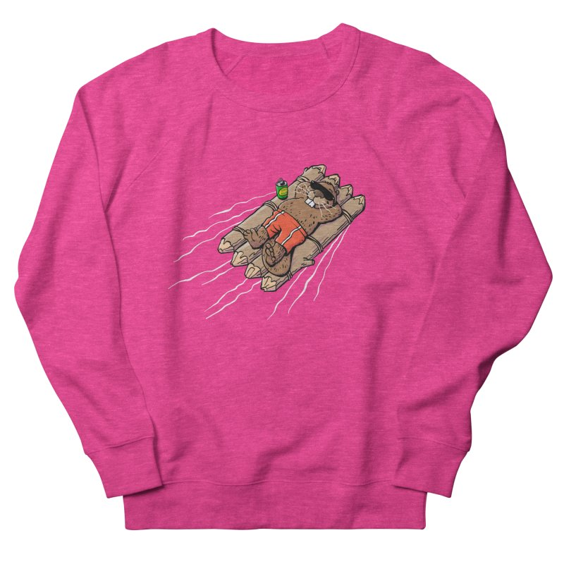 Beavacation Women's French Terry Sweatshirt by Freehand