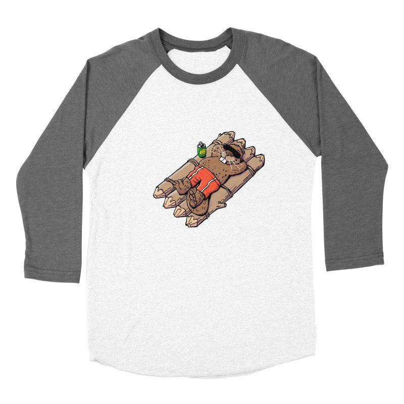 Beavacation Women's Longsleeve T-Shirt by Freehand