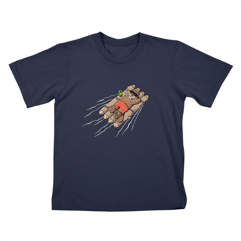 Beavacation Kids T-Shirt by Freehand
