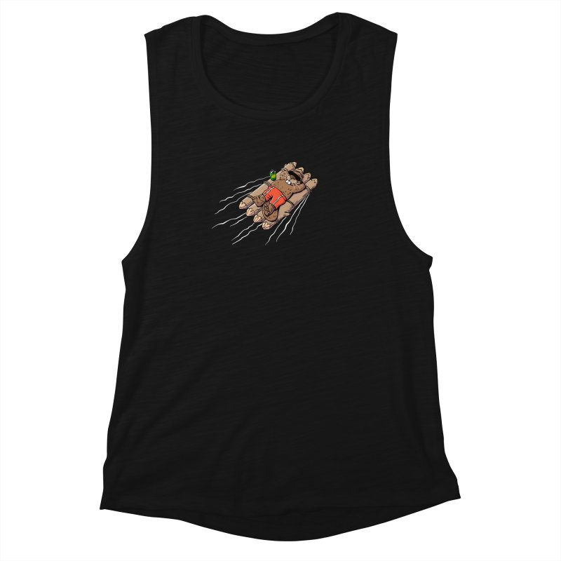 Beavacation Women's Muscle Tank by Freehand